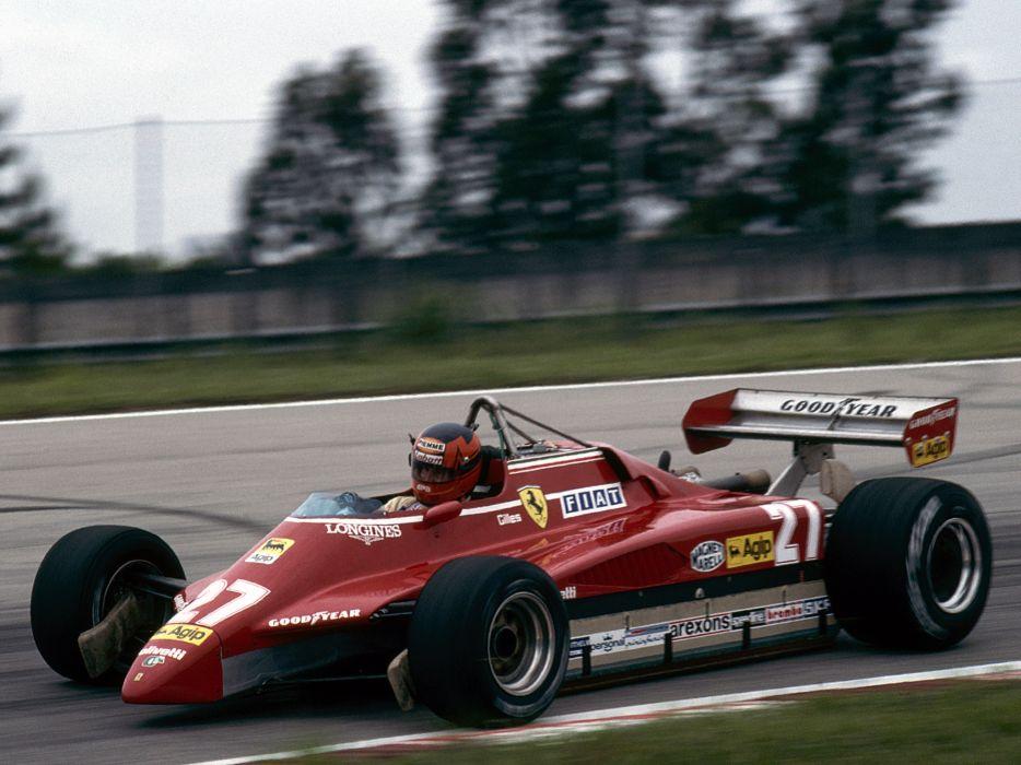 1982 Ferrari 126C2 formula one f-1 race racing  d wallpaper