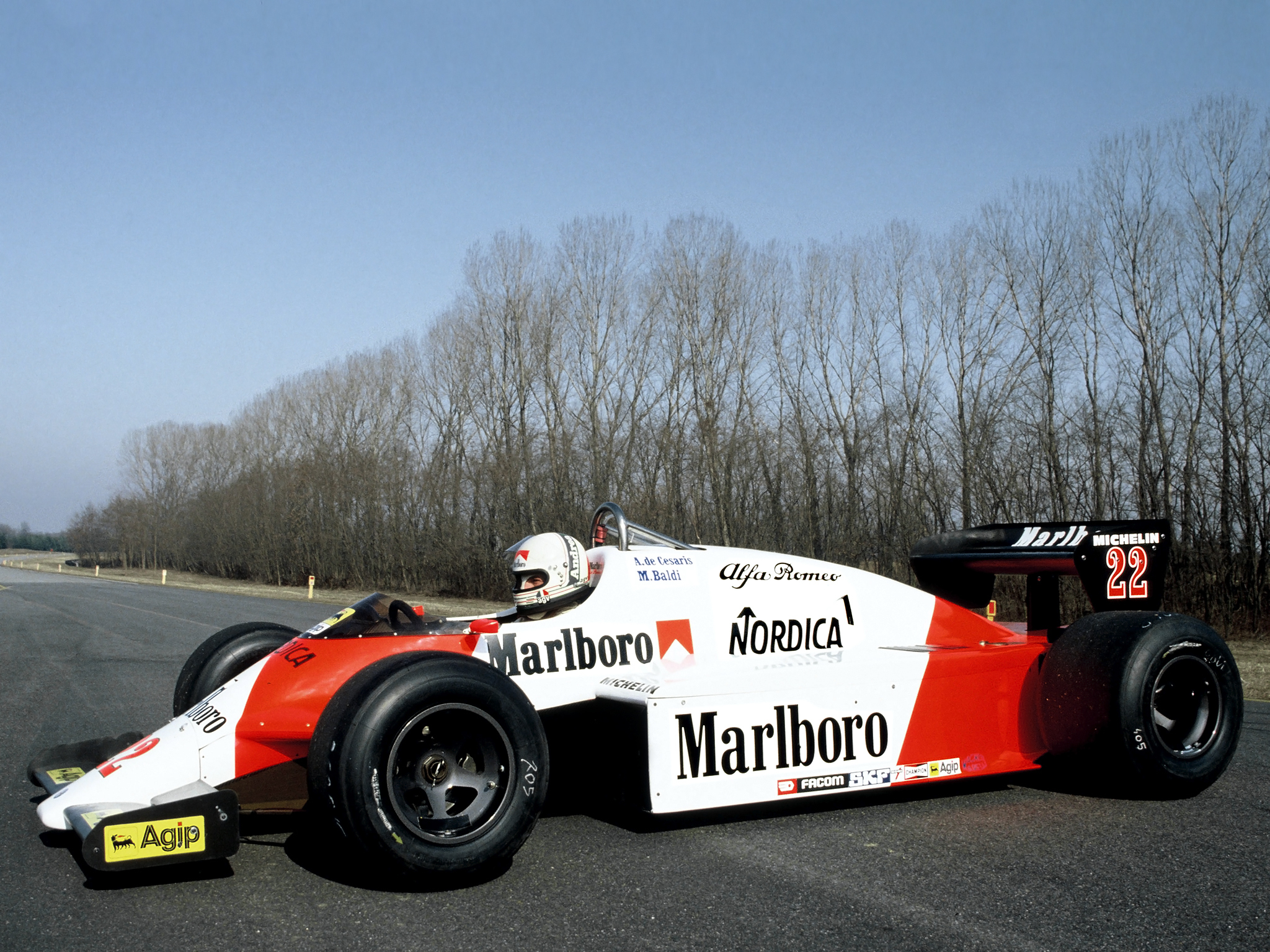 1983 Alfa Romeo 183t Formula One F 1 Race Racing Y Wallpaper 2048x1536 143779 Wallpaperup