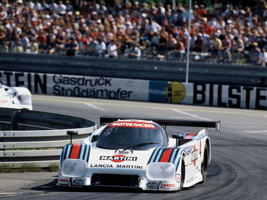 1983 Lancia LC2 Group-C race racing         f wallpaper