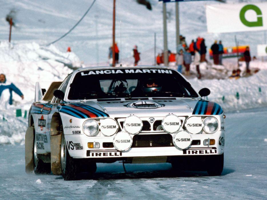 1983 Lancia Rally 037 Group-B race racing   g wallpaper