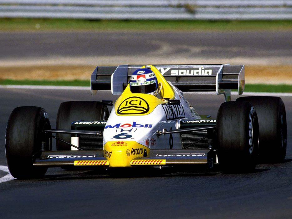 1984 Williams FW09B formula one f-1 race racing   g wallpaper