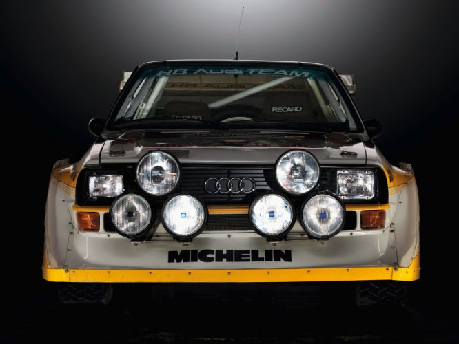 1985 Audi Sport quattro S-1 Group-B Rally race racing h wallpaper