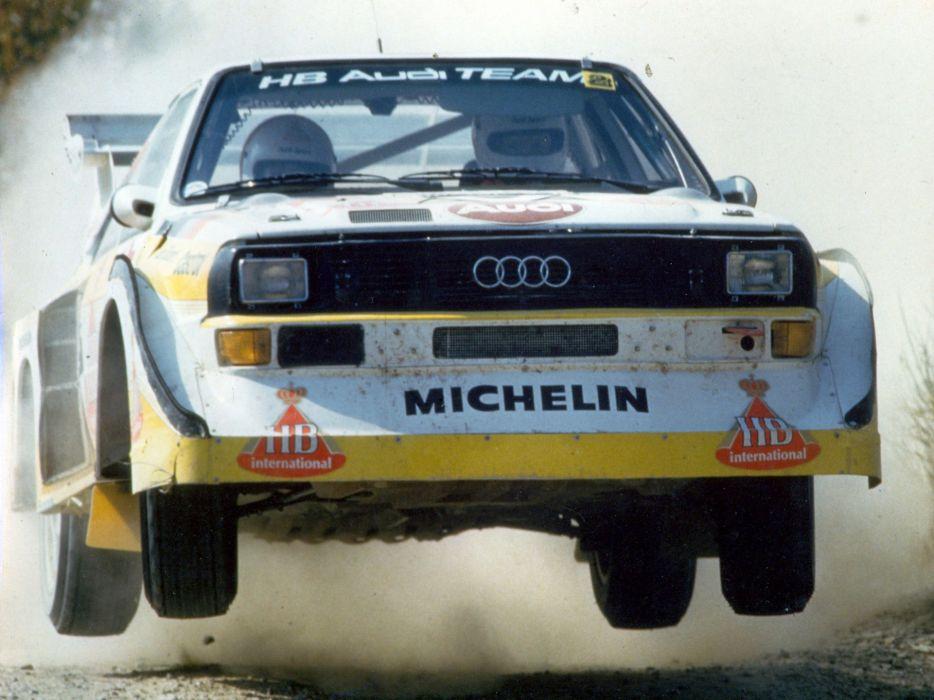 1985 Audi Sport quattro S-1 Group-B Rally race racing g wallpaper