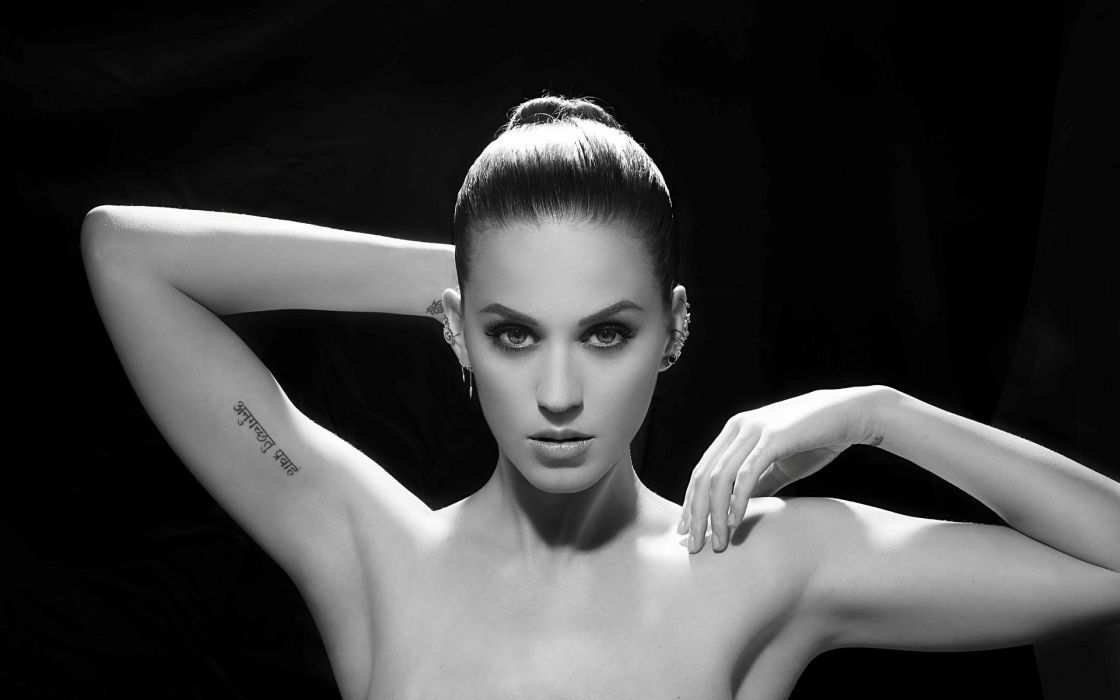 Katy Perry singer actress tattoo wallpaper
