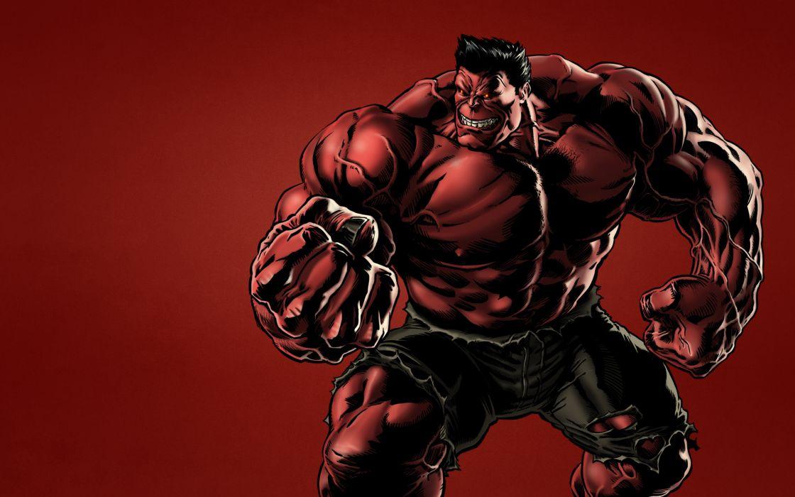 Heroes comics Hulk hero Warriors Red superhero wallpaper