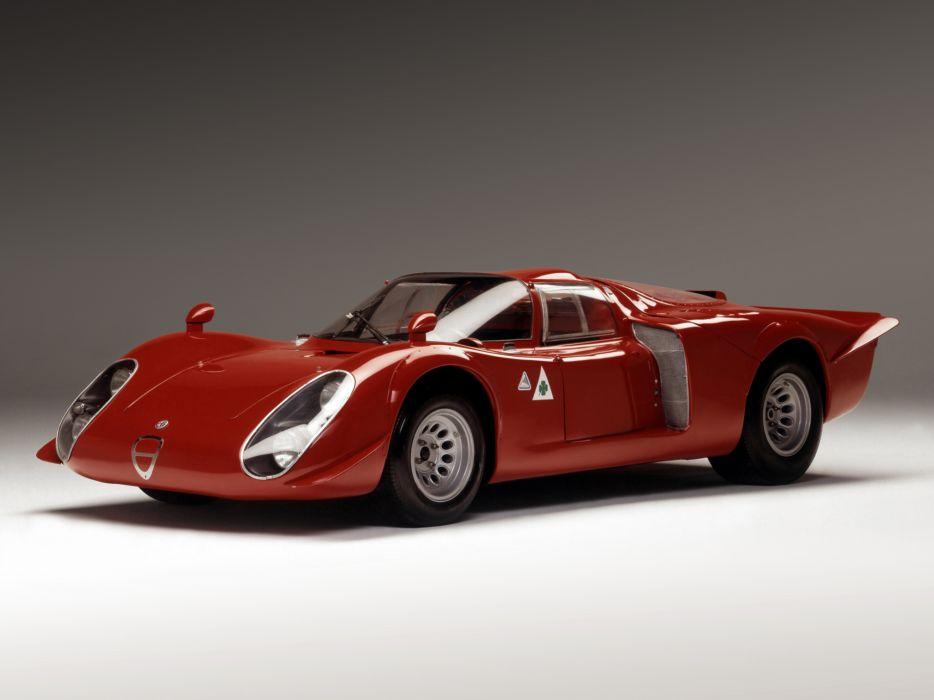 1968 Alfa Romeo Tipo 33-2 Daytona classic race racing   h wallpaper