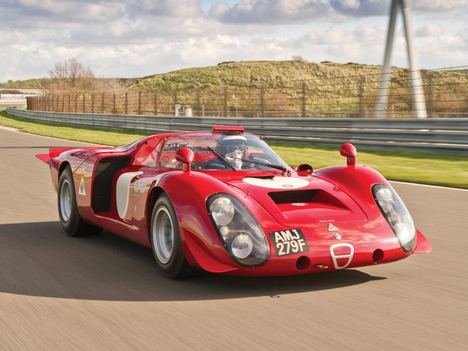 1968 Alfa Romeo Tipo 33-2 Daytona classic race racing le-mans   k wallpaper