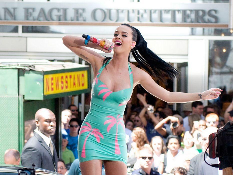 Katy Perry pop singer actress girl brunette   hs wallpaper