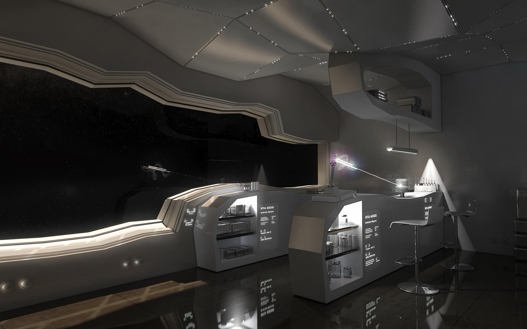 future spacecraft interior -#main