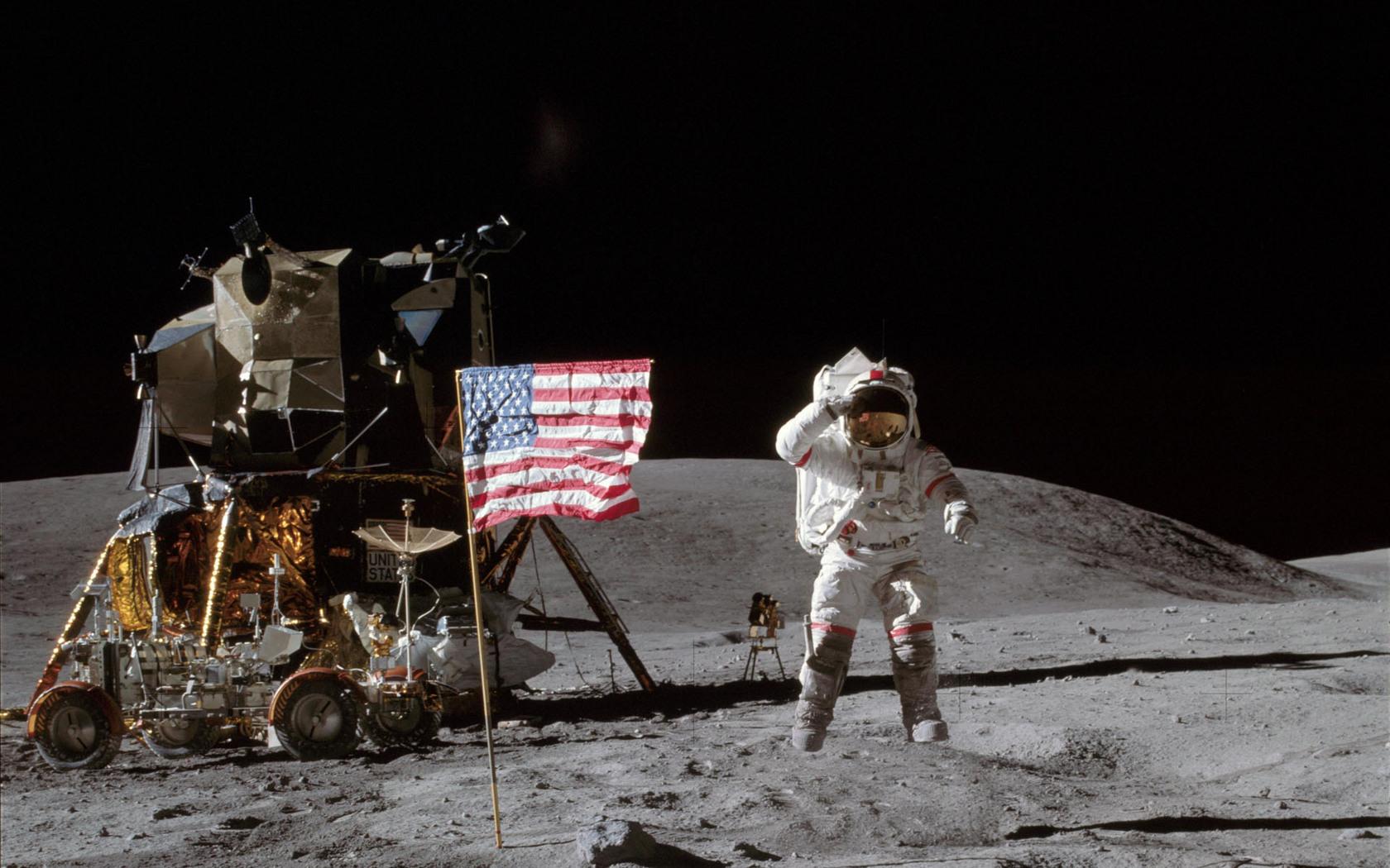 moon landing color - photo #31