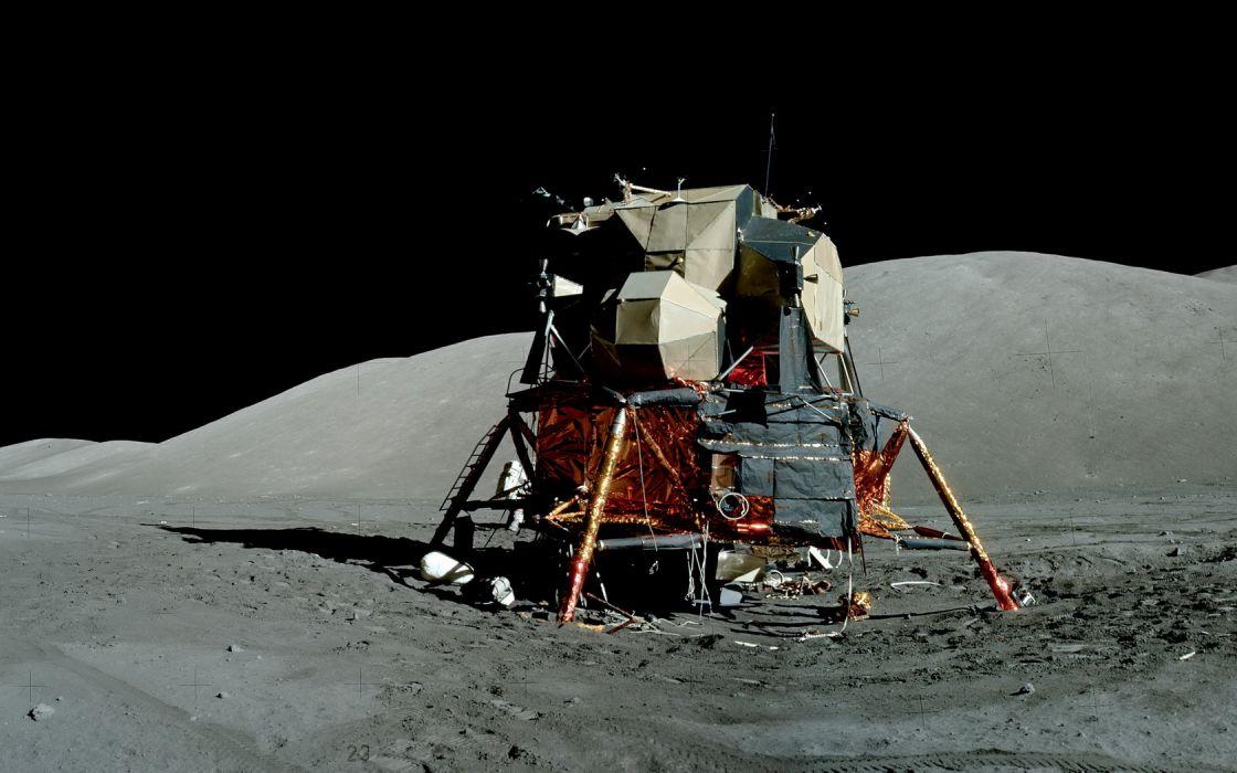 Moon LEM Apollo wallpaper