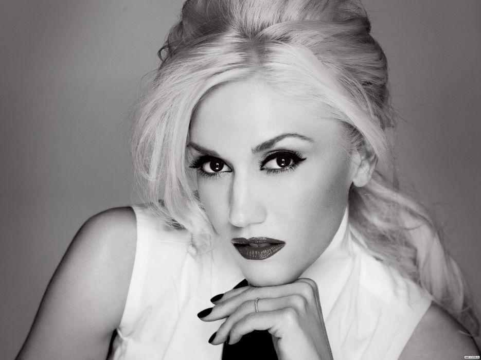 Gwen Stefani No Doubt singer musician sexy babe blonde g wallpaper
