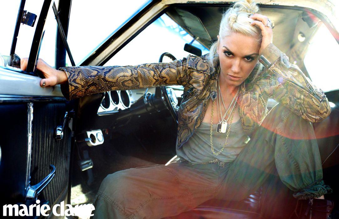 Gwen Stefani No Doubt singer musician sexy babe blonde mood     g wallpaper