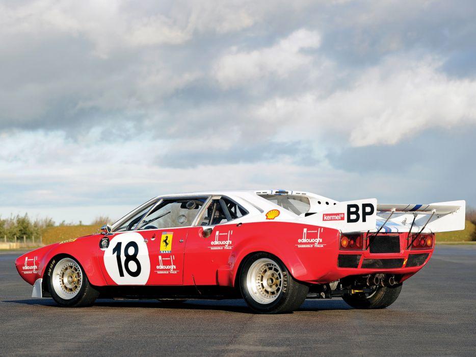 1974 Ferrari Dino 308 GT-4 NART 08020 le-mans race racing   g wallpaper