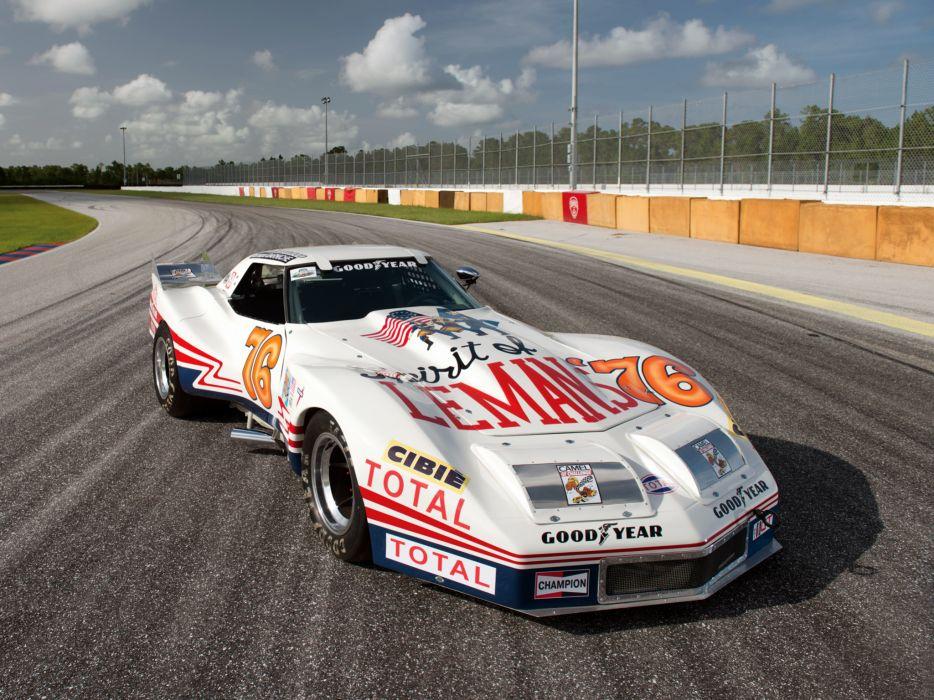 1976 Greenwood Chevrolet Corvette IMSA Racing Coupe C-3 race supercar hot rod classic g wallpaper