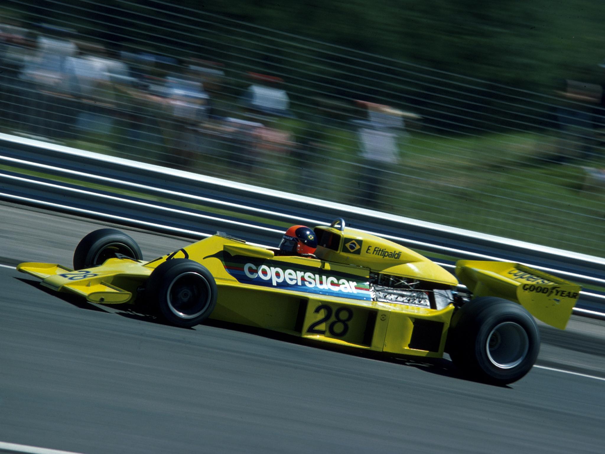 1977 Copersucar Fittipaldi F-5 Formula One F-1 Race Racing