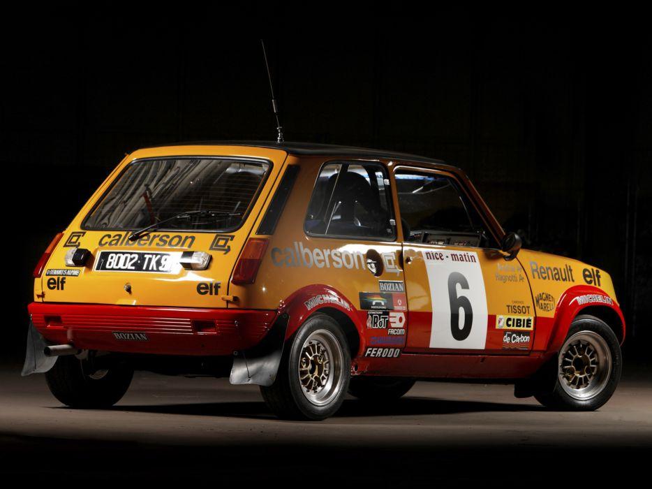 1977 Renault 5 Alpine Rally race racing    g wallpaper
