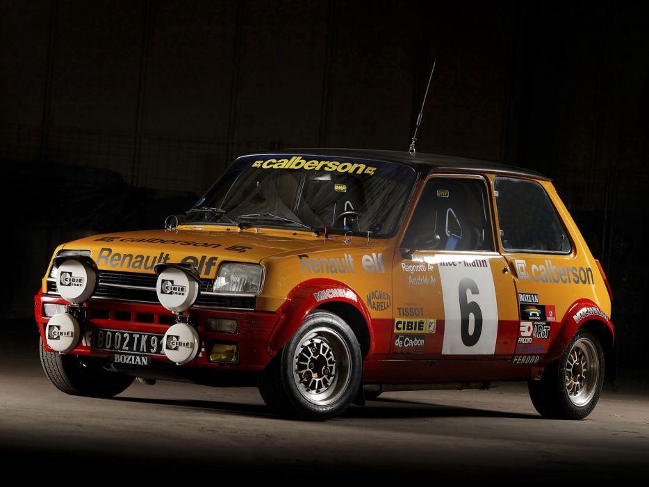 1977 Renault 5 Alpine Rally race racing wallpaper