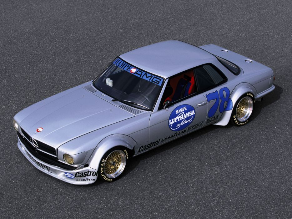 1978 Mercedes Benz AMG SLC 450 Rennwagen C107 race racing   g wallpaper