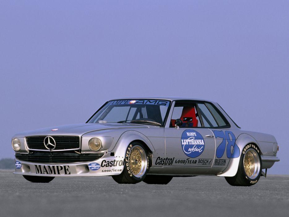 1978 Mercedes Benz AMG SLC 450 Rennwagen C107 race racing wallpaper