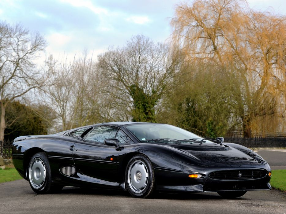 1992 Jaguar XJ220 supercar   d wallpaper