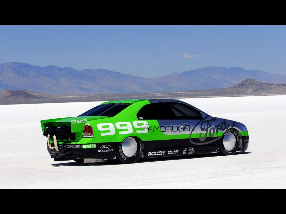 2007 Ford Fusion Hydrogen 999 Speed-Record tuning race racing  g wallpaper