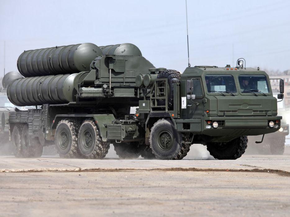 2007 PU S-400 Triumph BZKT 64022 russian military missile launcher 6x6 truck p-u  f wallpaper