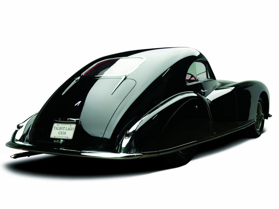 1947 Talbot Lago T26 Grand Sport Coupe Franay retro     h wallpaper