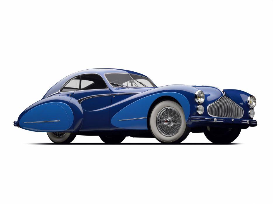 1948 Talbot Lago T26 Grand Sport Coupe Saoutchik retro wallpaper
