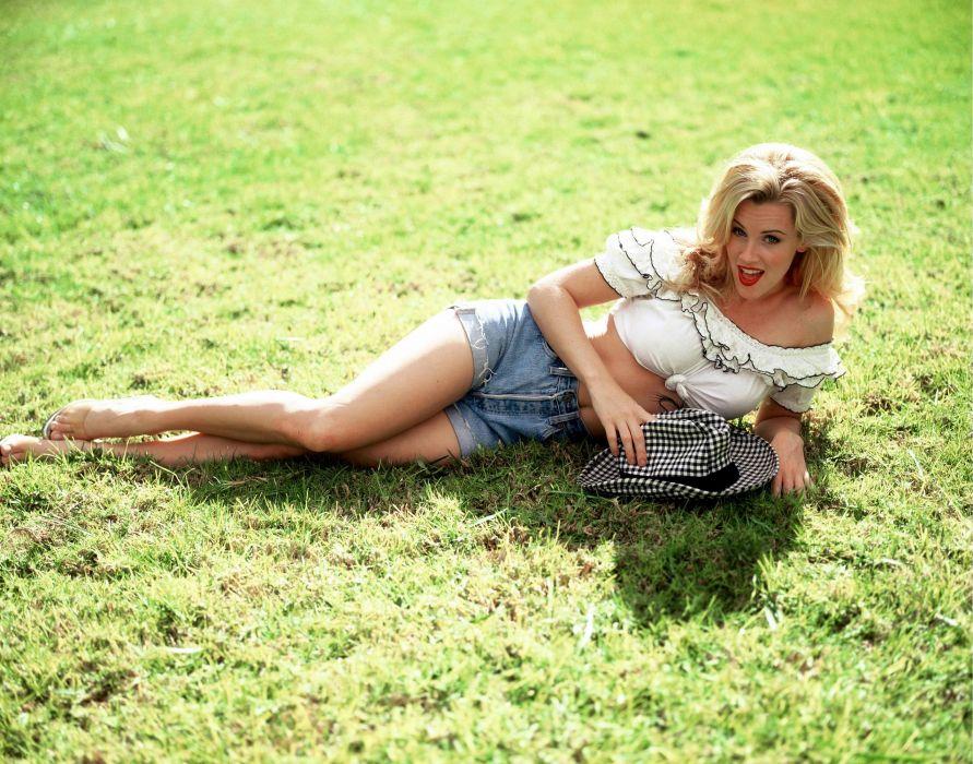 Jenny McCarthy actress model blonde sexy babe   d wallpaper