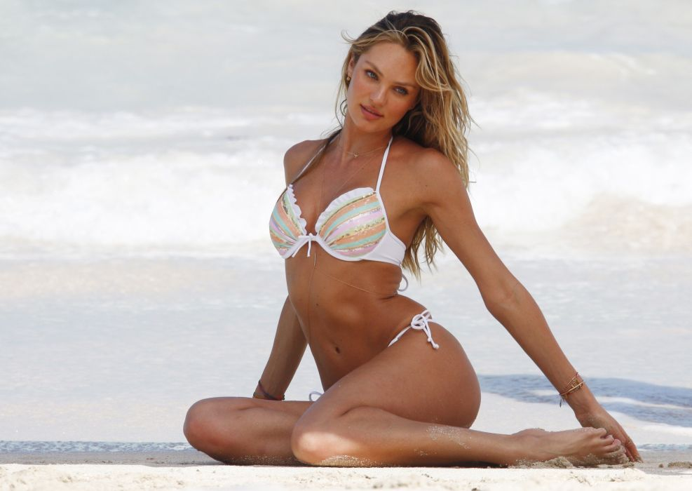 Candice Swanepoel fashion model blonde sexy babe d wallpaper