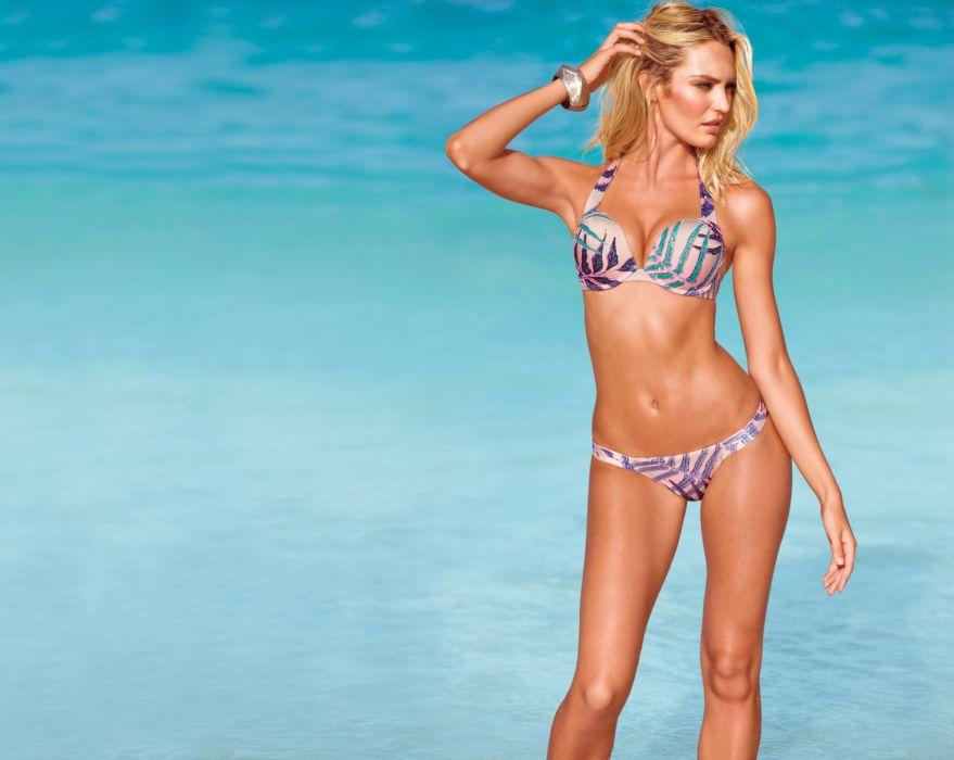Candice Swanepoel fashion model blonde sexy babe   sq wallpaper