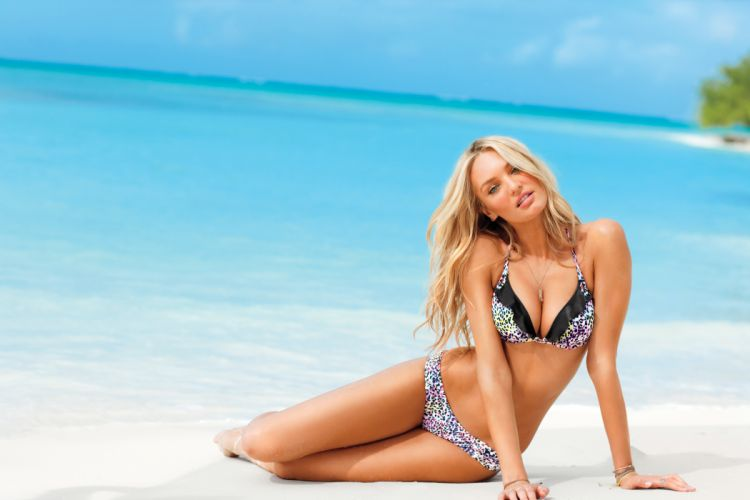 Candice Swanepoel fashion model blonde sexy babe dw wallpaper
