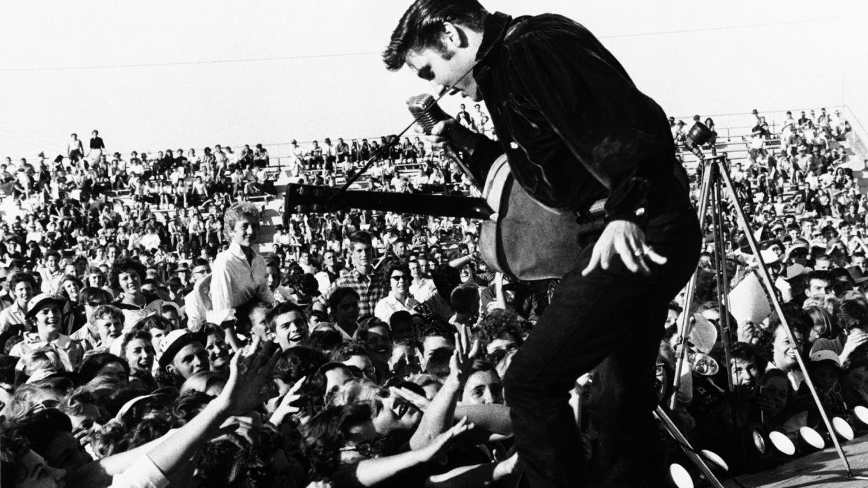 Elvis Presley rock men concert        g wallpaper