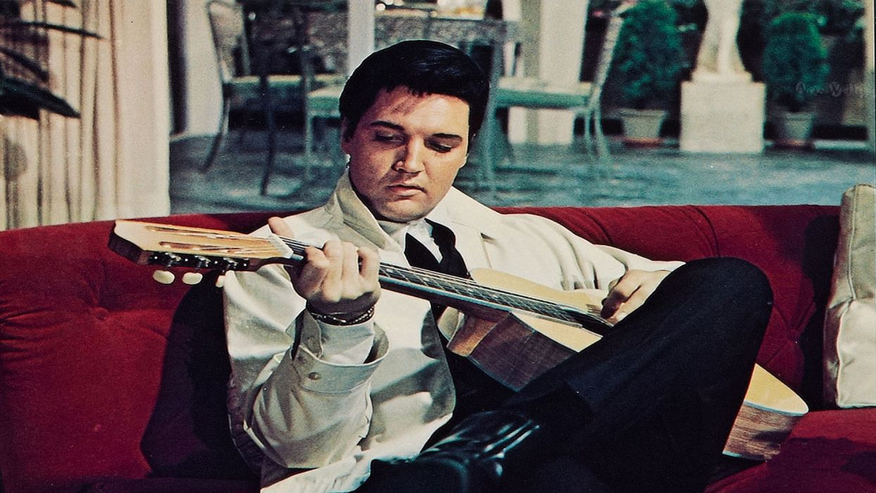 Elvis Presley rock men guitar gf