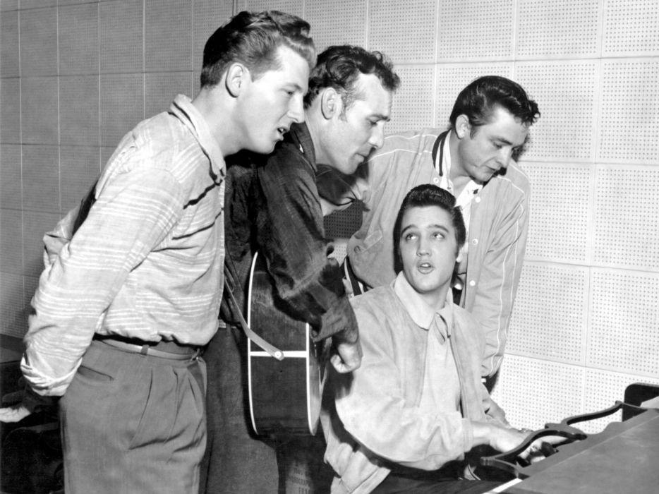 Elvis Presley rock men wallpaper