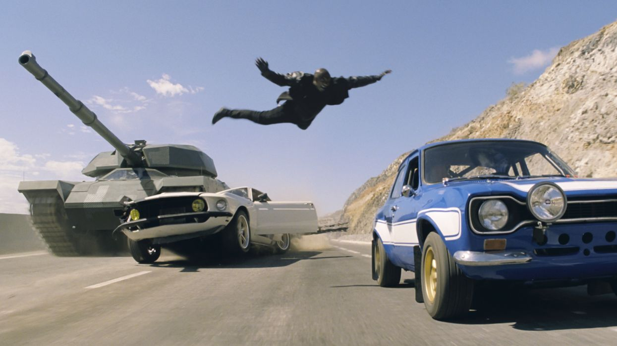 Fast & Furious 6 movie action wallpaper