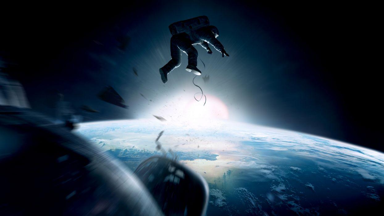 GRAVITY movie sci-fi space    j wallpaper