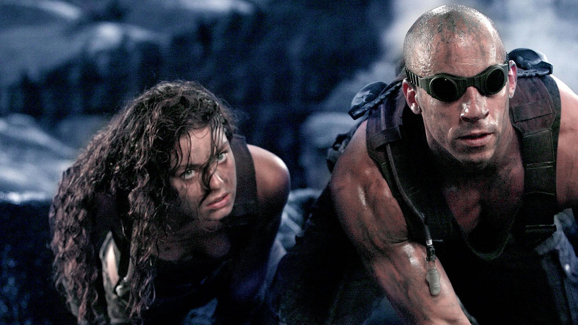 The Chronicles of Riddick vin diesel sci-fi warrior g ...
