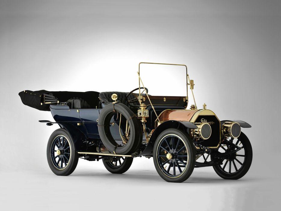1909 Pierce Great Arrow Series-PP-40 HP Touring retro    h wallpaper