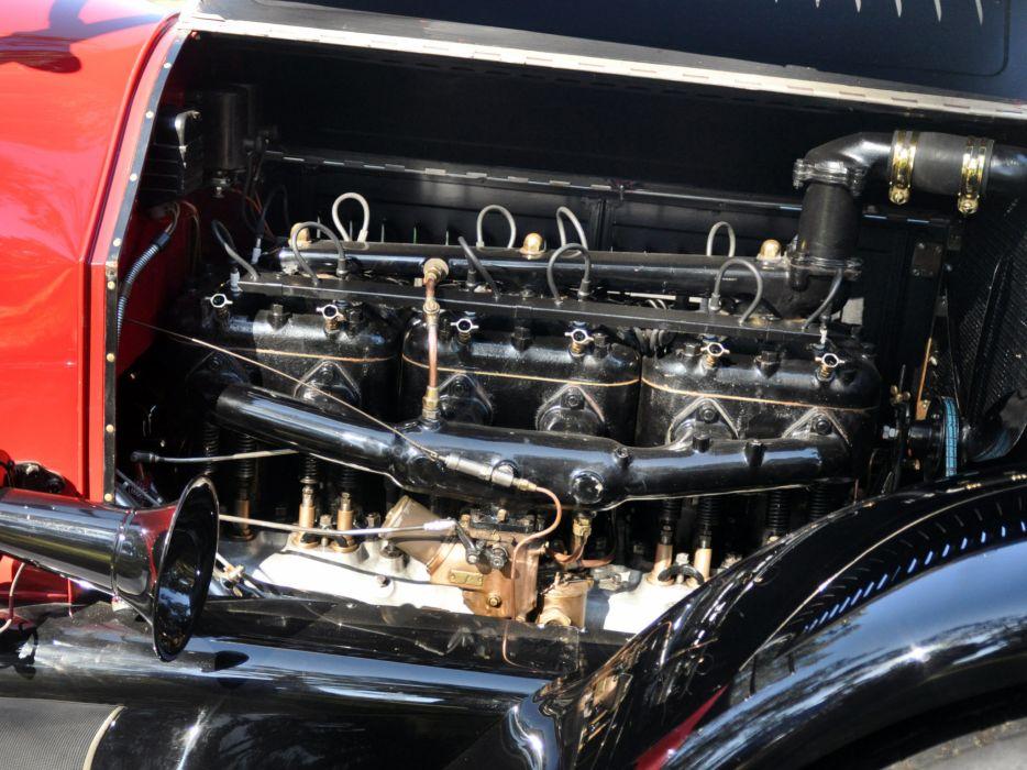 1919 Pierce Arrow Model-48 4-passenger Roadster retro engine        g wallpaper