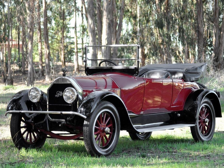 1919 Pierce Arrow Model-48 4-passenger Roadster retro wallpaper