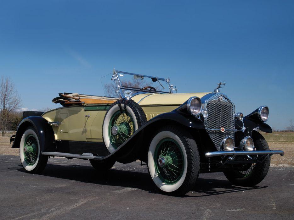1928 Pierce Arrow Model-81 Rumbleseat Roadster retro   fs wallpaper
