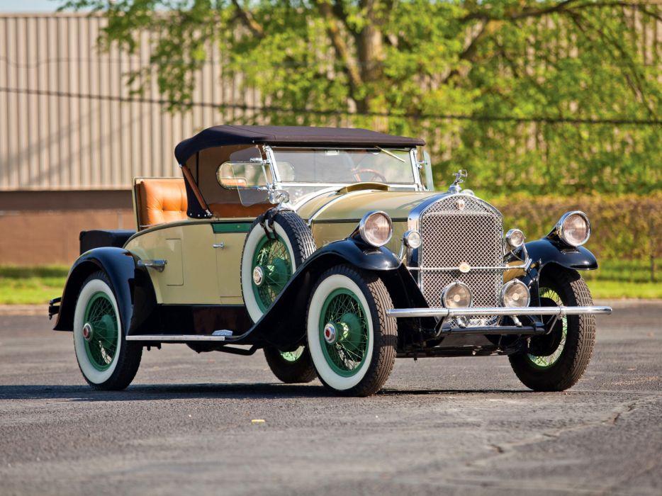1928 Pierce Arrow Model-81 Rumbleseat Roadster retro   f wallpaper