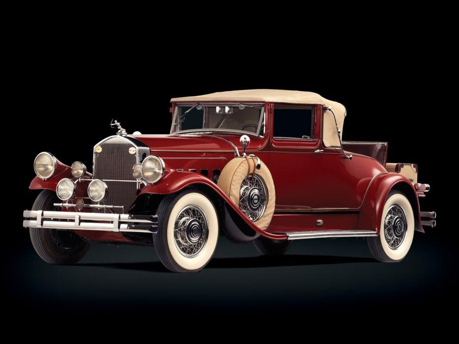 1930 Pierce Arrow Model-A Convertible Coupe retro wallpaper