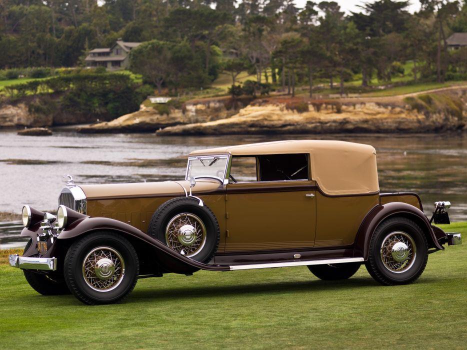1931 Pierce Arrow Model-41 Convertible Victoria LeBaron retro     j wallpaper