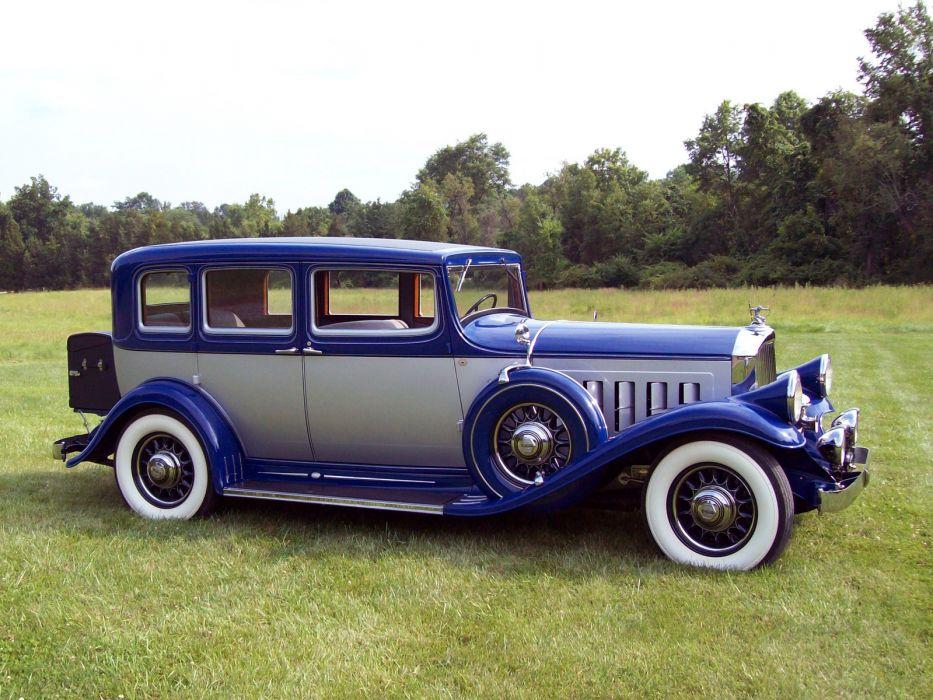 1932 Pierce Arrow Twelve Model-53 Touring Sedan retro luxury g wallpaper