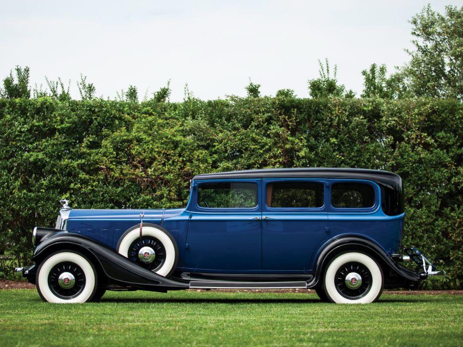 1933 Pierce Arrow Model-836 Enclosed Drive Limousine retro luxury  gh wallpaper