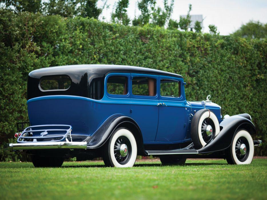 1933 Pierce Arrow Model-836 Enclosed Drive Limousine retro luxury  h wallpaper