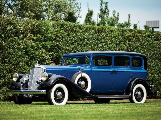 1933 Pierce Arrow Model-836 Enclosed Drive Limousine retro luxury hg wallpaper